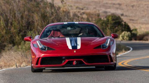 Бронированный Ferrari 458 Speciale