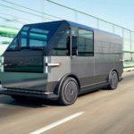 Электрический фургон MPDV для служб доставки