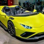 Lamborghini Huracan Evo RWD Spyder – вместо лобового стекла нагнетатель