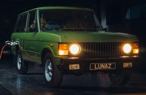 Первый Range Rover электромобиль