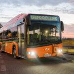 Электробус Solaris для школьников