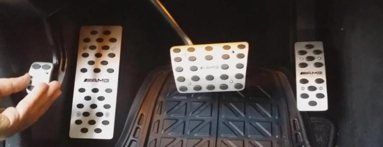 Дополнительная педаль в автомобиле