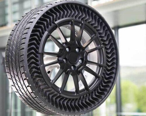 Безвоздушные шины и современные автомобили