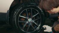 Черним шины сами