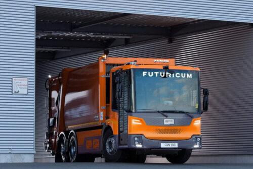Futuricum — электромусоровоз