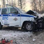Инспекторы ДПС спасли автобус с детьми от аварии
