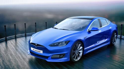 Tesla - обозначение названия модели