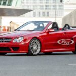 Уникальный кабриолет Mercedes-Benz CLK DTM AMG