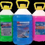 Значение цвета стеклоомывающей жидкости