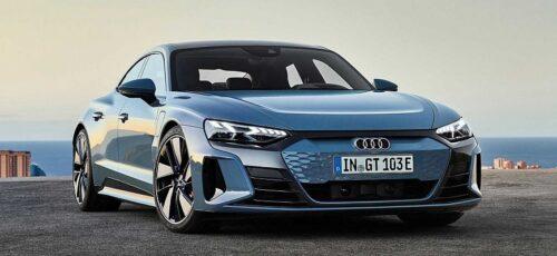 Audi E-Tron GT - новый электромобиль