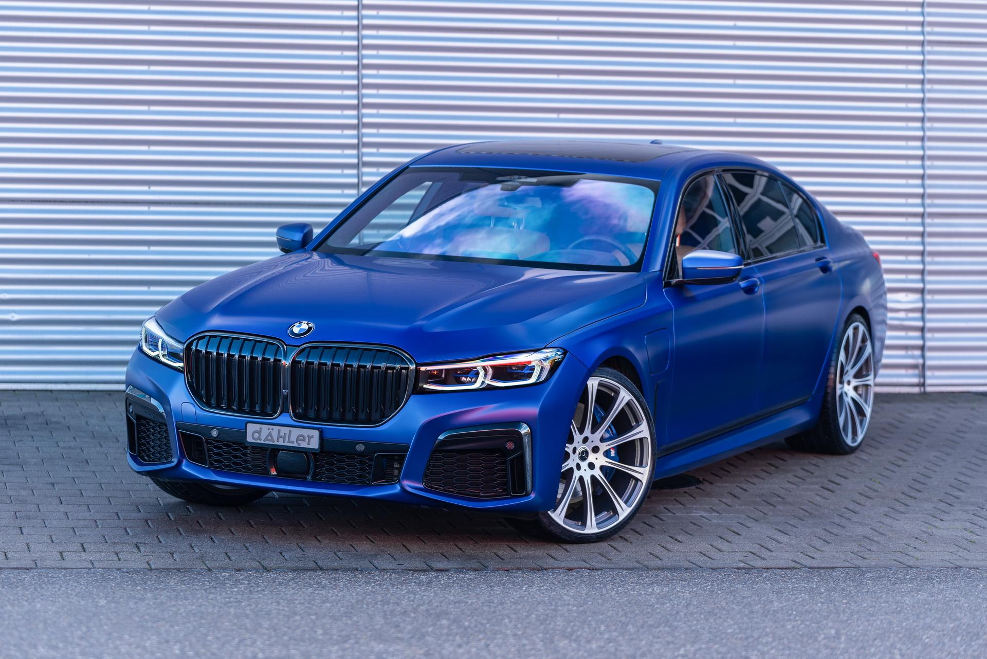 BMW 745Le после тюнинга
