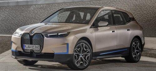 BMW iX - новые подробности об электрическом кроссовере