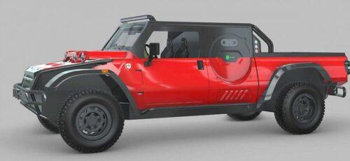 Будущий пикап Boot Zero с водородным двигателем