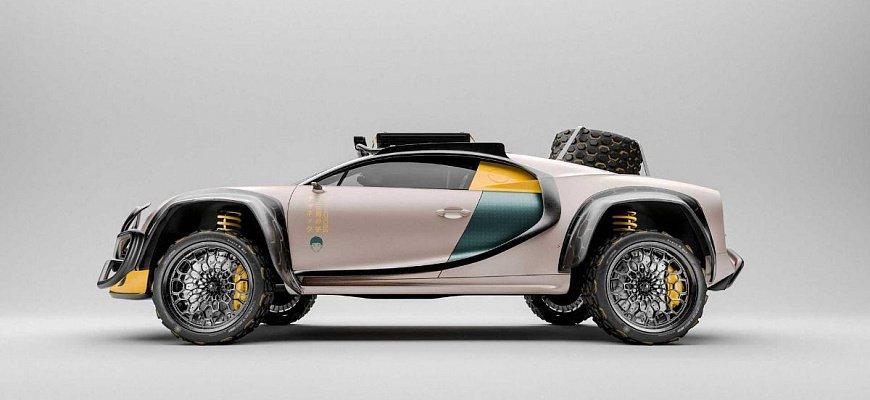 Хардкорный внедорожник Bugatti Chiron Terracross
