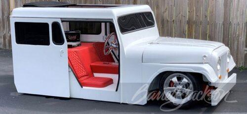 Jeep - крутой почтовый автомобиль