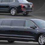 Кроссовер Cadillac XT6 переделан в 6-дверный «президентский» седан