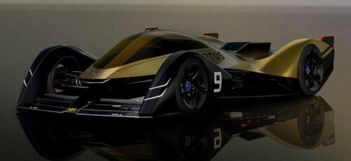 Lotus E-R9 Endurance Racer - электрический спортивный автомобиль