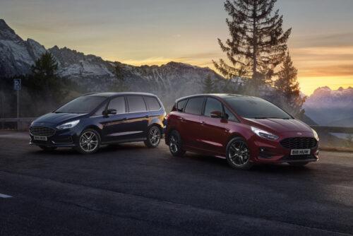 Минивэны Ford S-Max и Galaxy стали гибридами