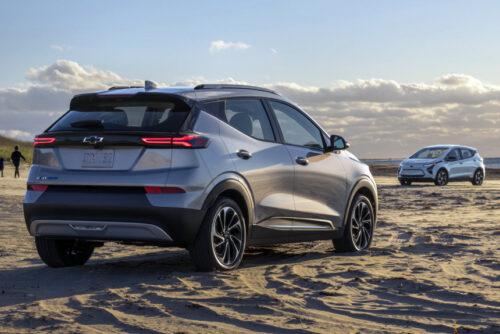 Обновленный Chevrolet Bolt EV и паркетник Bolt EUV