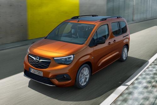 Пассажирская версия электрического Opel Combo-e