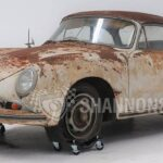 Ржавый 63-летний Porsche 456A Cabriolet за 13,5 млн рублей