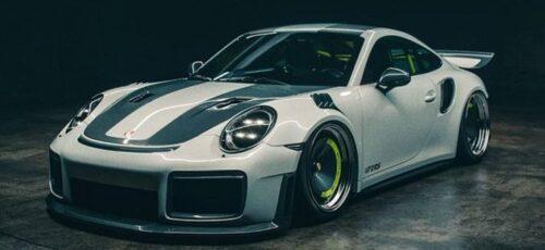 Porsche 911 GT2 RS - спойлер в стиле ретро