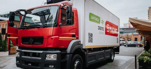 Серийное производство электрических грузовиков