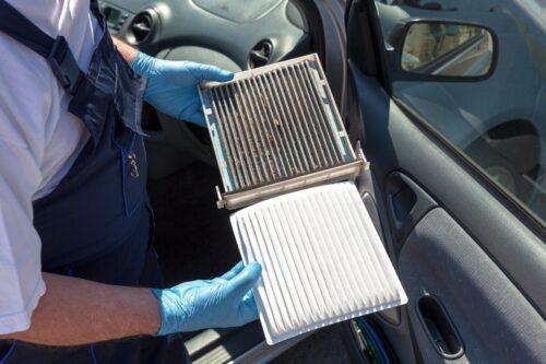 Способы избавления от пыли в салоне машины