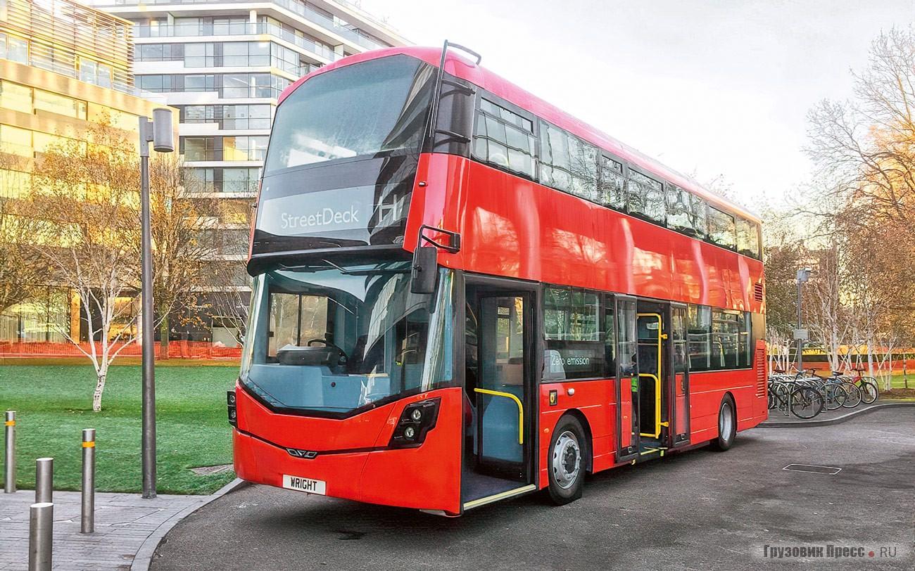 Водородные автобусы далбдеккеры