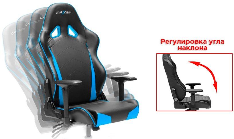 спортивный наклон спинки кресла в авто