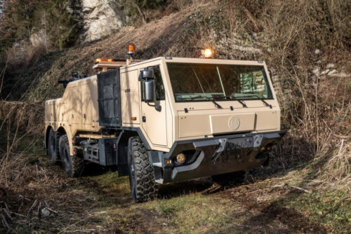 Tatra — эвакуаторы для военных и спасателей
