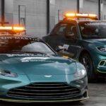 Aston Martin – автомобили безопасности для гонок F1 2021 года