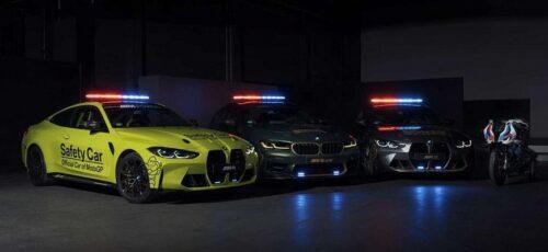 BMW автомобили безопасности на гонках MotoGP