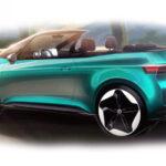 Электромобиль Volkswagen ID.3 превратили в кабриолет