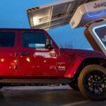 Фирменные зарядные станций Jeep