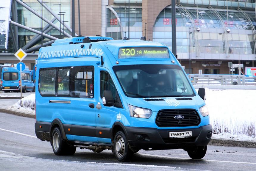 Ford Transit - маршрутные автобусы