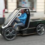 Гибрид грузового велосипеда и электромобиля
