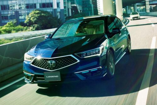 Honda - первый серийный автопилот третьего уровня