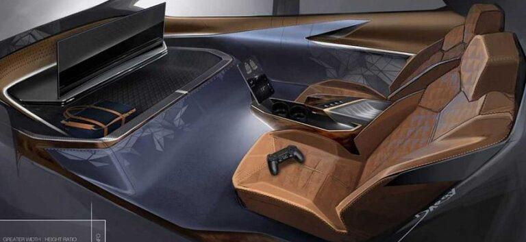 Интерьер машины будущего представили дизайнеры GM
