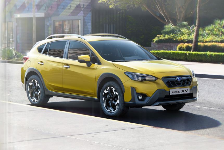 Обновленный Subaru XV