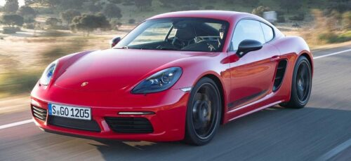 Приемник спортивной модели Porsche 718