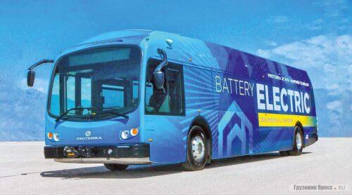 Proterra - электрические автобусы 5 поколения