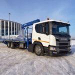 Scania – новый эвакуатор для транспортировки спецтехники