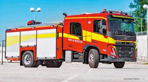 Volvo на 9 человек для экстренных служб
