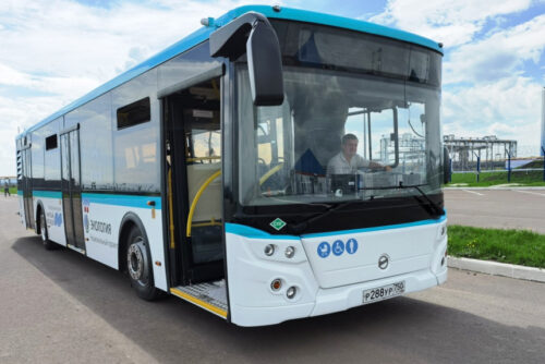 Автобусы ЛиАЗ LNG на сжиженном метане