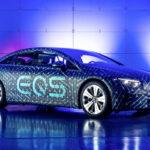 Электрический Mercedes-Benz EQS с рекордной аэродинамикой