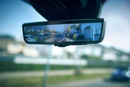 Ford Transit - виртуальное зеркало заднего вида