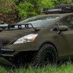 Гибрид Toyota Prius переделан в экстремальный автомобиль для охотников