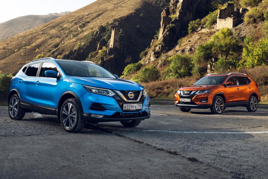 Nissan Qashqai и X-Trail с полуавтопилотом
