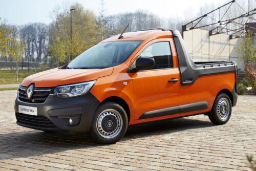 Новая модель Renault Express - пикап